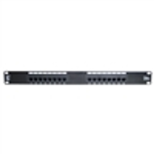 16 PORT CAT-6 1U  PATCH PANEL (NPP-6016)