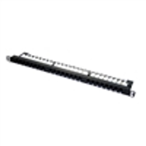 """CAT6 UTP 24-PORT HD PATCH PANEL, 110 IDC, 0.5RU"" (NPP-6124)"