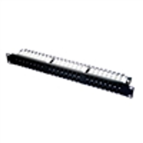 """CAT6 UTP 48-PORT HD PATCH PANEL, 110 IDC, 1RU"" (NPP-6148)"