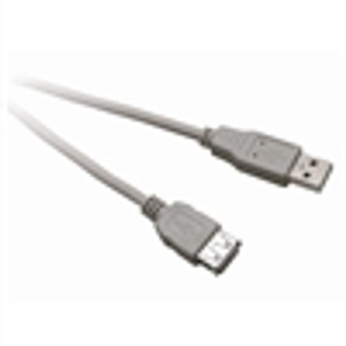USB 2.0 Cable; USB-A Male to USB-A Female; 6 Feet (NUB-3206)