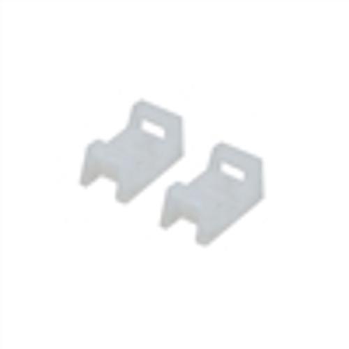 Nylon Cable Tie Mounts; 0.5; WHITE; 100PK (NWT-9002)