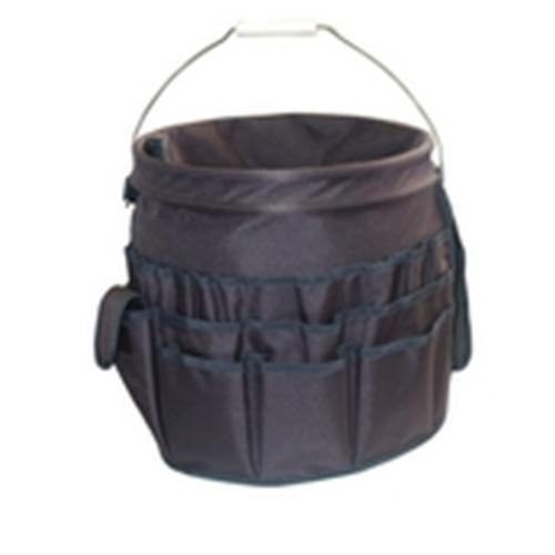 Tool Bag; Gate Mount; 19.5 x 17.5 x 16.5; 8 Inner and 18 Outer Pockets - Gray (THC-1010)