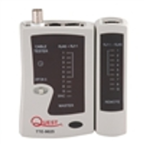 Tester; Economy Coaxial and LAN Cable Tester (TTE-9025)