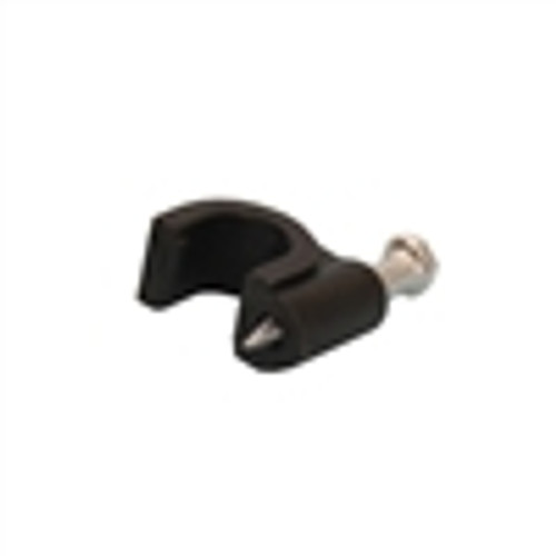 Cable Clip W / NAIL for Single RG59; Black; 100PK (VCC-1102)