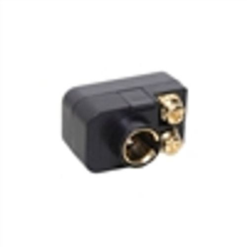Adapter; F to Screws; Gold Plated; 75-300 Ohm (VMT-4000)