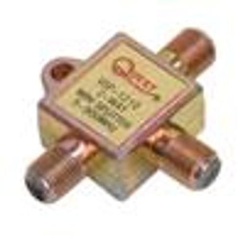 CATV Splitter; 2-Way Mini; Horizontal; 900MHZ (VSP-1210)