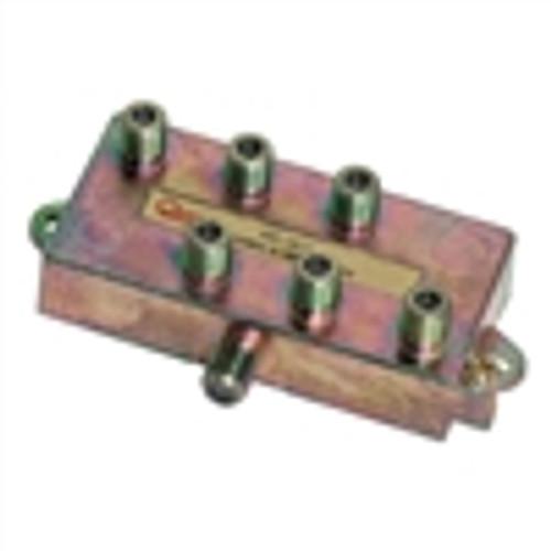 CATV Splitter; 6-WAY; Horizontal; 900MHZ (VSP-1620)