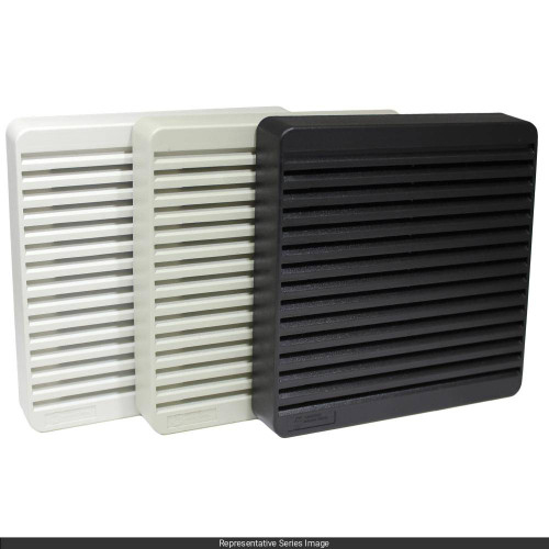 120MM FILTER GRILL CONT. GREY