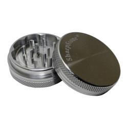 """SharpStone Aluminum 2.5"""" 2-Piece Grinder - Silver"""
