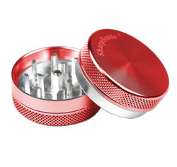 "SharpStone 2-Piece Grinder Colored 2.2"" - Red"
