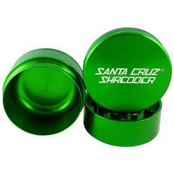 "Santa Cruz Shredder 3-Piece Grinder Large 2.75"" - Green"