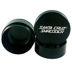 """Santa Cruz Shredder 3-Piece Grinder Medium 2.2"""" - Black"""
