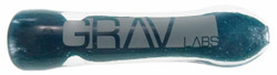 Worked Chillum w/ Comfort Mouthpiece by Grav Labs