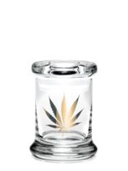 420 Science Pop Top Jar Xtra Small – Gold Leaf