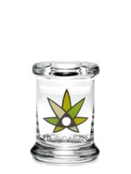 420 Science Pop Top Jar Xtra Small - 420 Science Logo
