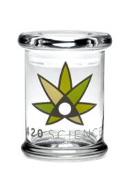 420 Science Pop Top Jar Medium - 420 Science Logo