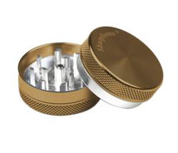 """SharpStone 2-Piece Grinder Colored 1.5"""" - Bronze"""
