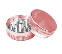 "SharpStone 2-Piece Grinder Colored 1.5"" - Pink"