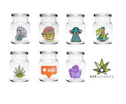 420 Science Pop Top Jar Small