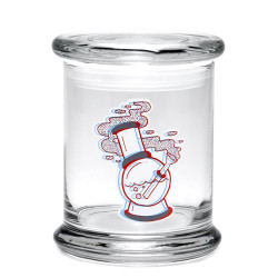 420 Science Pop Top Jar Large - 3D Water Pipe
