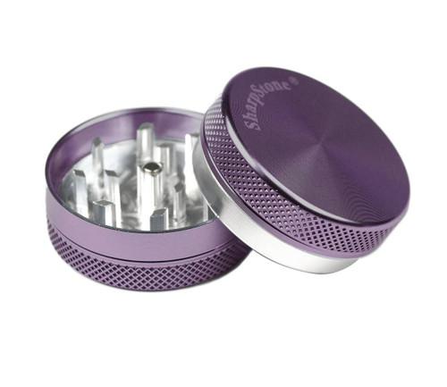 "SharpStone 2-Piece Grinder Colored 1.5"" - Purple"