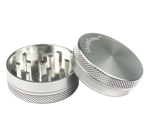 """SharpStone 2-Piece Grinder 2.2"""" - Silver"""