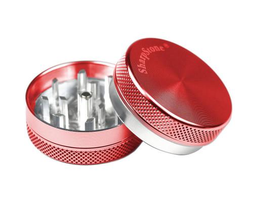 "SharpStone 2-Piece Grinder Colored 1.5"" - Red"