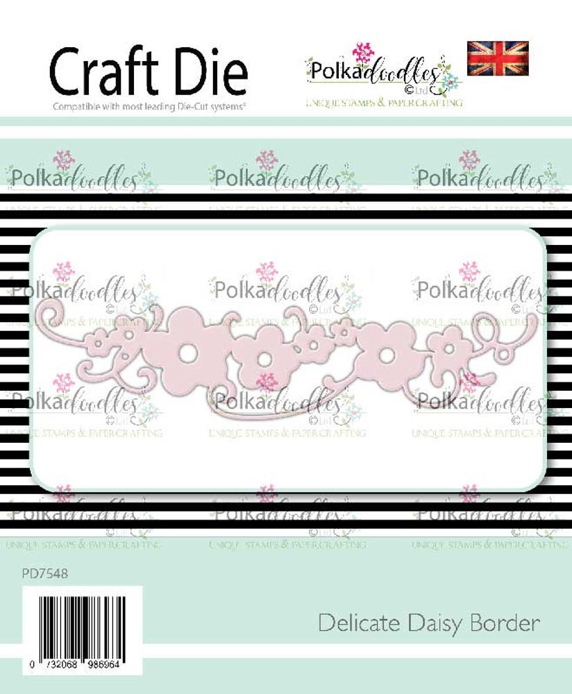 Delicate Daisy Border Die