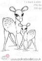 Winter Deer - Octavia Frosted Winter - Digital CRAFT Download