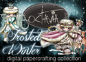 Frosted Spines - Octavia Frosted Winter - Digital CRAFT Download