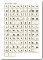 Love/Romance Scrabble Letters - download printable digital stamp