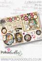 Winnie Wonderland Design Sheet 6 - Printable Digital download