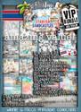 VIPXXL EDITION Winnie Starfish/Sandcastles Craft Printables - DOWNLOAD