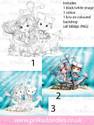 Meribelle Hello Sailor.. 3-for-2 digital craft stamp download