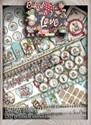 Baked With Love - Design Sheets digital craft paper download