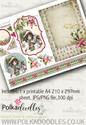 Winnie Winterland - Design Sheet 4 digital craft papers download