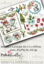 Winnie Winterland - Design Sheet 6 digital craft papers download