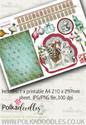 Winnie Winterland - Design Sheet 12 digital craft papers download