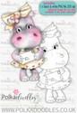 Helga Hippo - Say Hi - download digi stamp