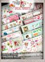 Coloured design sheets, Big Kahuna value, Winnie Special Moments...Craft printable download digital stamps/digi scrap kit 500 digital stamp clipart