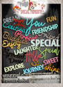Word Art, Winnie Special Moments...Craft printable download digital stamps/digi scrap kit 500 digital stamp clipart