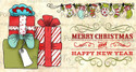 Christmas Gifts & Stockings -  Clear Stamp Set