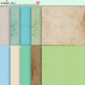 Apple Lagoon - digiscrap kit papers/materials