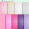 Berry Crush Digi Scrap Kit - printable glitter papers