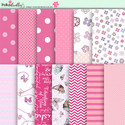 Berry Crush Digi Scrap Kit - printable papers