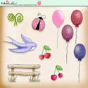 Berry Crush Digi Scrap Kit - elements
