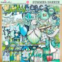 Summer Breeze - digiscrap kit/craft printable download