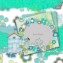 Summer Breeze - digiscrap printable download layout