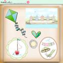 Summer Breeze - digiscrap printable download elements
