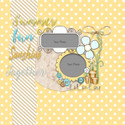 Lemon Top Digi Scrap Kit - layout